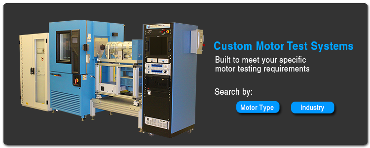 Custom Motor Test Systems